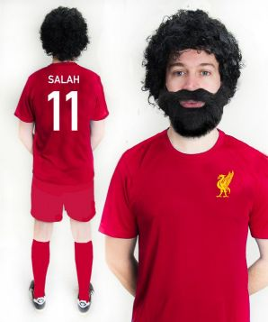 Mo Salah Liverpool Football Fancy Dress Costume